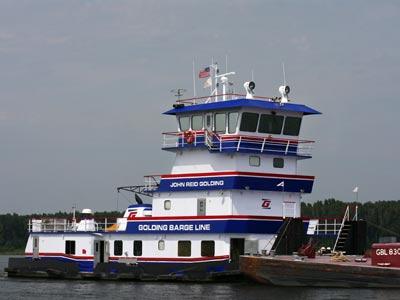 Golding barge